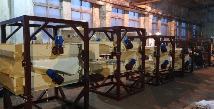 Оборудование по подготовки семян, готовое к отправке заказчику